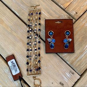 Great price! NEW! Bracelet and earrings set